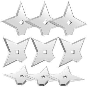 Ninja Star Magnets (Silver color)